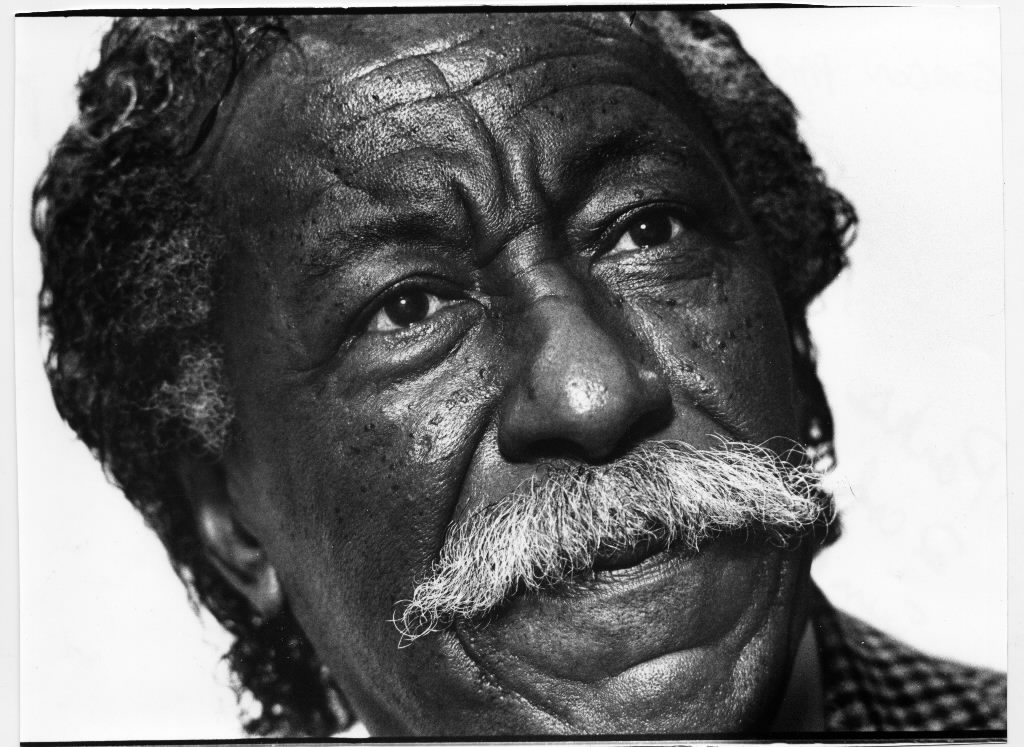 1520581 bytes; 3480 x 2540; Gordon Parks, photographer, filmmaker, and more, is shown in a October 23, 1986, Star Tribune photo