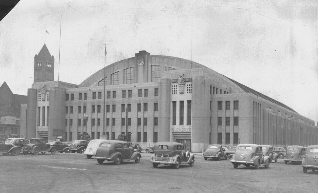 1906219 bytes; 2848 x 1731; October 14, 1989 The Minneapolis armory shortly after it was completed in 1936. Minneapolis Star Tr
